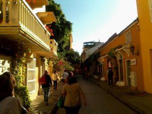 Lugares en Cartagena vista calles