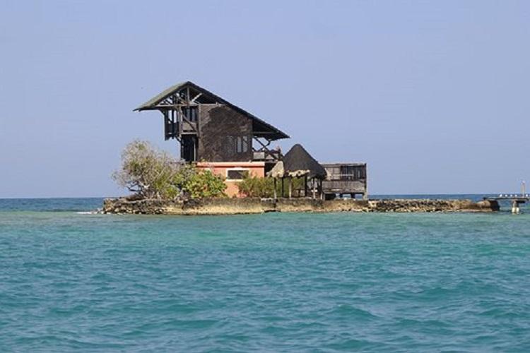 Pueblos de Cartagena vista de islas