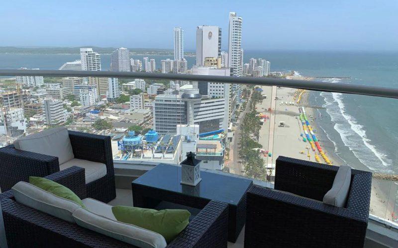 Apartamentos en Palmetto con vista superior desde el apartamento